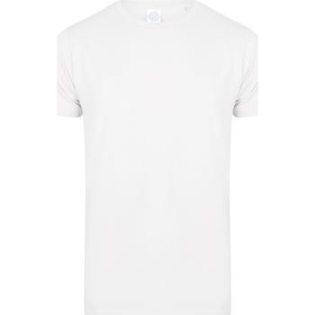 Abbigliamento Unisex bambino T-shirt maniche corte Skinni Fit SM121 Bianco