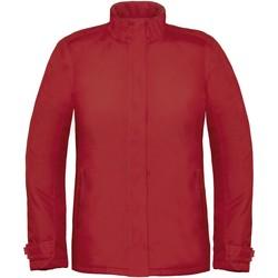 Abbigliamento Donna giacca a vento B And C Real+ Rosso scuro