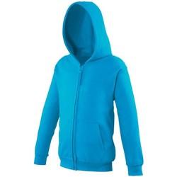 Abbigliamento Unisex bambino Felpe Awdis JH50J Azzurro