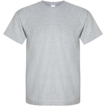 Abbigliamento Uomo T-shirt maniche corte Gildan Ultra Grigio sportivo
