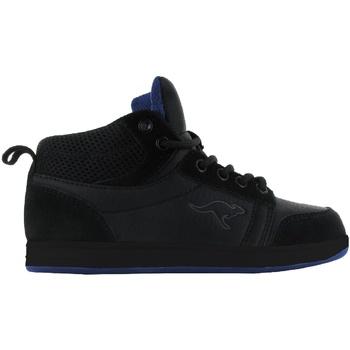 Scarpe Unisex bambino Sneakers alte Kangaroos  Nero/Nero/Royal
