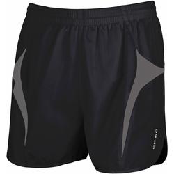 Abbigliamento Uomo Shorts / Bermuda Spiro S183X Nero/Grigio