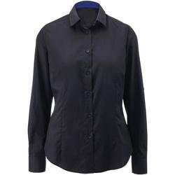 Abbigliamento Donna Camicie Alexandra AX060 Nero/Blu reale