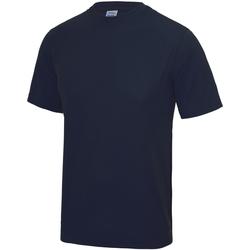 Abbigliamento Unisex bambino T-shirt maniche corte Awdis JC01J Blu navy