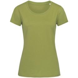Abbigliamento Donna T-shirt maniche corte Stedman Stars  Verde