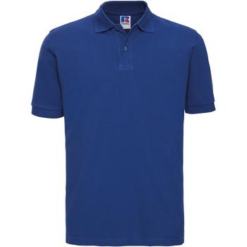 Abbigliamento Uomo Polo maniche corte Russell 569M Blu reale acceso