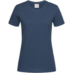 Abbigliamento Donna T-shirt maniche corte Stedman  Blu scuro navy