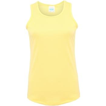 Abbigliamento Donna Top / T-shirt senza maniche Awdis JC015 Sorbetto Limone