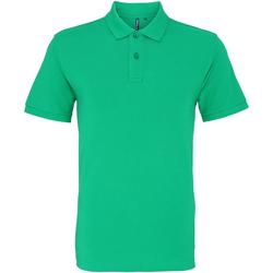 Abbigliamento Uomo Polo maniche corte Asquith & Fox AQ010 Verde Kelly