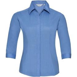 Abbigliamento Donna Camicie Russell 926F Corporate Blue