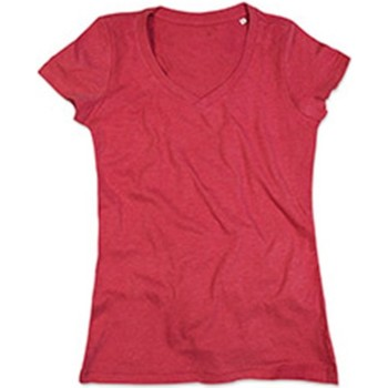 Abbigliamento Donna T-shirt maniche corte Stedman Stars  Rosso screziato