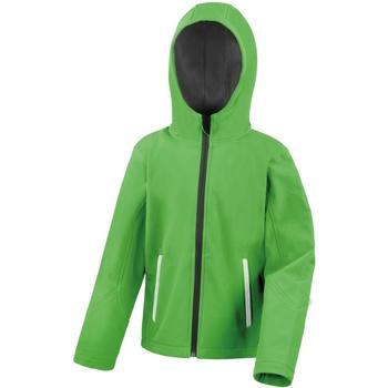 Abbigliamento Unisex bambino Giubbotti Result R224JY Verde/Nero