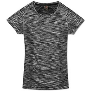 Abbigliamento Donna T-shirt maniche corte Stedman Seamless Nero screziato