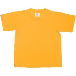Abbigliamento Unisex bambino T-shirt maniche corte B And C TK300 Oro