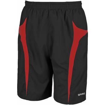 Abbigliamento Uomo Shorts / Bermuda Spiro S184X Nero/Rosso