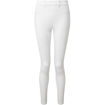 Abbigliamento Donna Leggings Asquith & Fox AQ062 Bianco