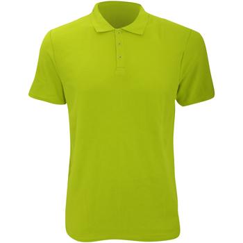 Abbigliamento Uomo Polo maniche corte Anvil 6280 Lime