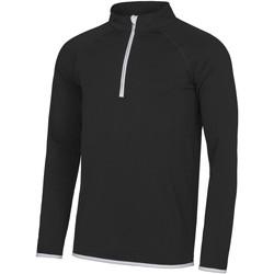 Abbigliamento Uomo Felpe Awdis JC031 Nero/Bianco