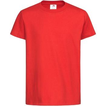 Abbigliamento Unisex bambino T-shirt maniche corte Stedman  Rosso