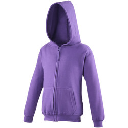 Abbigliamento Unisex bambino Felpe Awdis JH50J Viola