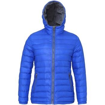 Abbigliamento Donna Piumini 2786 TS16F Blu/Grigio