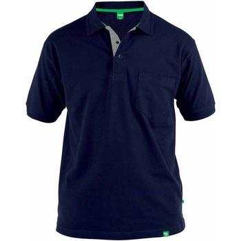 Abbigliamento Uomo Polo maniche corte Duke  Blu navy