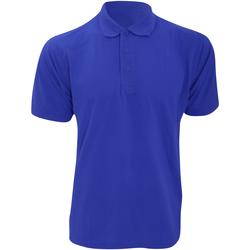 Abbigliamento Uomo Polo maniche corte Kustom Kit KK403 Blu reale