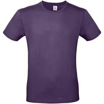 Abbigliamento Uomo T-shirt maniche corte B And C TU01T Viola splendente