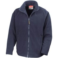 Abbigliamento Uomo Felpe in pile Result R115M Blu navy