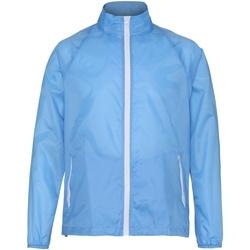 Abbigliamento Uomo giacca a vento 2786  Cielo/Bianco