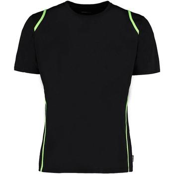 Abbigliamento Uomo T-shirt maniche corte Gamegear Cooltex Nero/Lime fluorescente