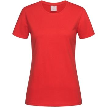 Abbigliamento Donna T-shirt maniche corte Stedman  Rosso intenso