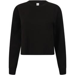 Abbigliamento Donna Felpe Skinni Fit SK515 Nero