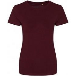 Abbigliamento Donna T-shirt maniche corte Ecologie EA01F Bordeaux