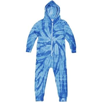 Abbigliamento Unisex bambino Pigiami / camicie da notte Colortone Die Tye Blu