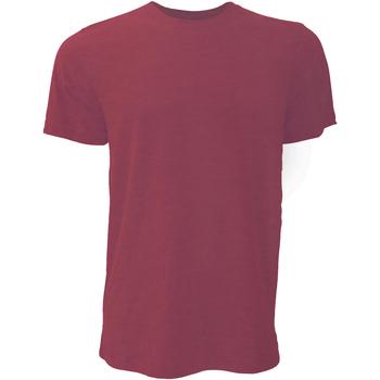 Abbigliamento Uomo T-shirt maniche corte Bella + Canvas CA3001 Rosso screziato