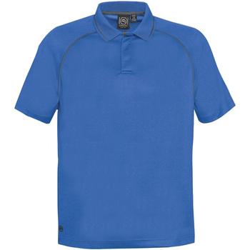 Abbigliamento Uomo Polo maniche corte Stormtech GPX-4 Azzurro/Carbone