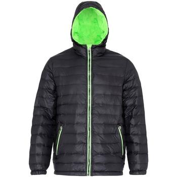 Abbigliamento Uomo Piumini 2786 TS016 Nero/Lime