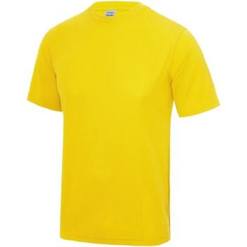 Abbigliamento Uomo T-shirt maniche corte Awdis JC001 Giallo