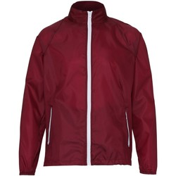 Abbigliamento Uomo giacca a vento 2786 TS011 Bordeaux/Nero