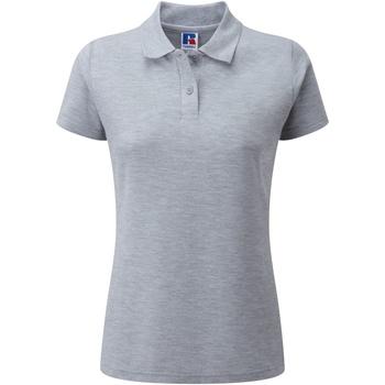 Abbigliamento Donna Polo maniche corte Jerzees Colours 539F Grigio Oxford