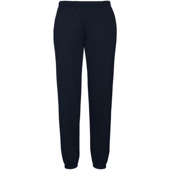 Abbigliamento Uomo Pantaloni da tuta Fruit Of The Loom 64040 Blu scuro