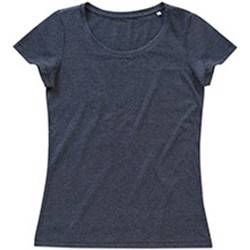 Abbigliamento Donna T-shirt maniche corte Stedman Stars Lisa Carbone screziato