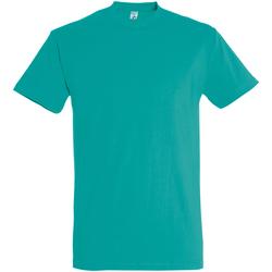 Abbigliamento Uomo T-shirt maniche corte Sols 11500 Acqua