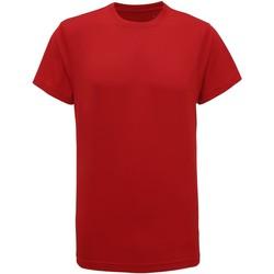 Abbigliamento Uomo T-shirt maniche corte Tridri TR010 Rosso fuoco