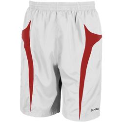 Abbigliamento Uomo Shorts / Bermuda Spiro S184X Bianco/Rosso