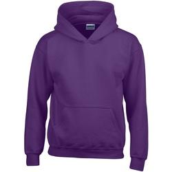 Abbigliamento Unisex bambino Felpe Gildan 18500B Viola