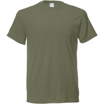 Abbigliamento Uomo T-shirt maniche corte Universal Textiles 61082 Verde oliva