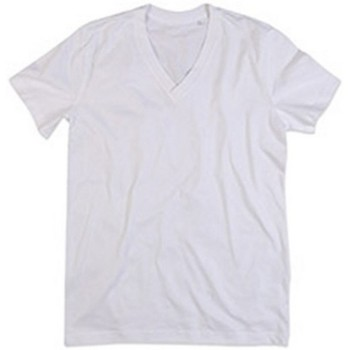 Abbigliamento Uomo T-shirt maniche corte Stedman Stars  Bianco