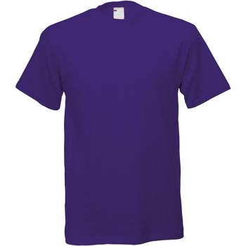 Abbigliamento Uomo T-shirt maniche corte Universal Textiles 61082 Uva